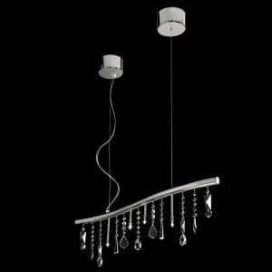 Hanging lamp Beby Italy SINUS SWAROVSKI small 1