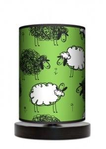 Lampa stojąca mała - Czarna owca