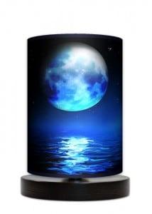 Lampa stojąca mała - Blue moon