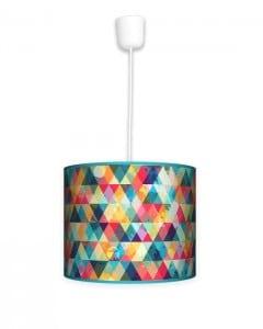 Lampa wisząca mała - Kolorowa