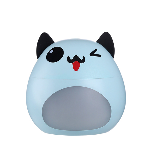 Blue LED cat shaped humidifier with lamp