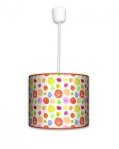 Lampa wisząca mała - Plamki
