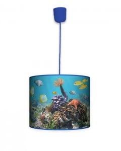 Lampa wisząca mała - Pod wodą