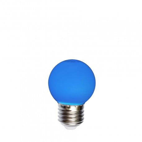Light bulb for garlands LED ball 45mm 1W blue