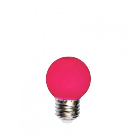 Light bulb for garlands LED ball 45mm 1W red
