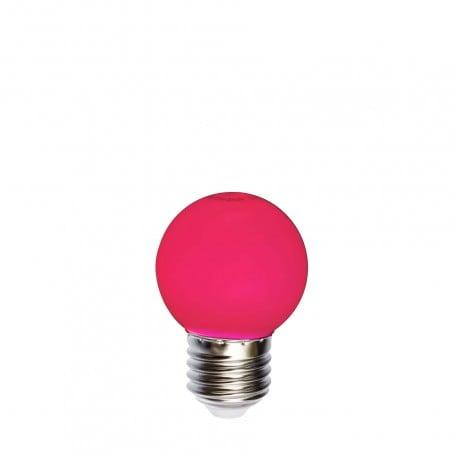 Light bulb for garlands LED ball 45mm 1W red