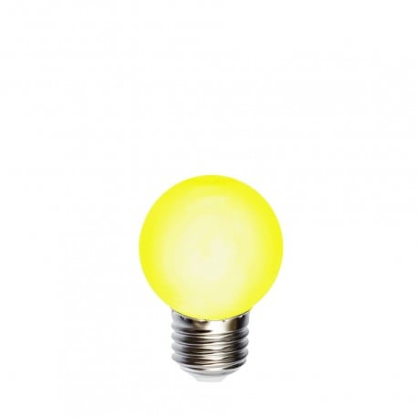 Light bulb for garlands LED ball 45mm 1W yellow