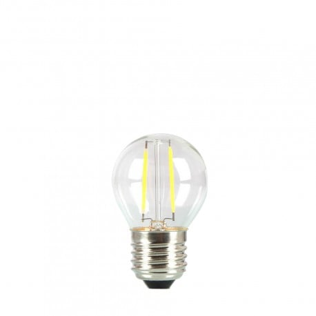 Bulb for garland LED ball 45mm 2W transparent color of heat