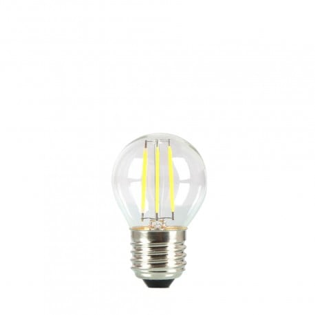 Bulb for garland LED ball 45mm 4W transparent color of heat