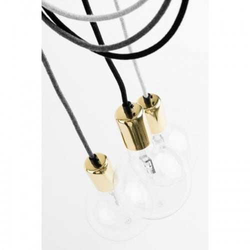 Loft Elite Line Gold pendant lamp