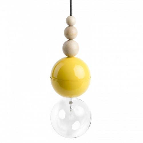 Loft Bala yellow pendant lamp