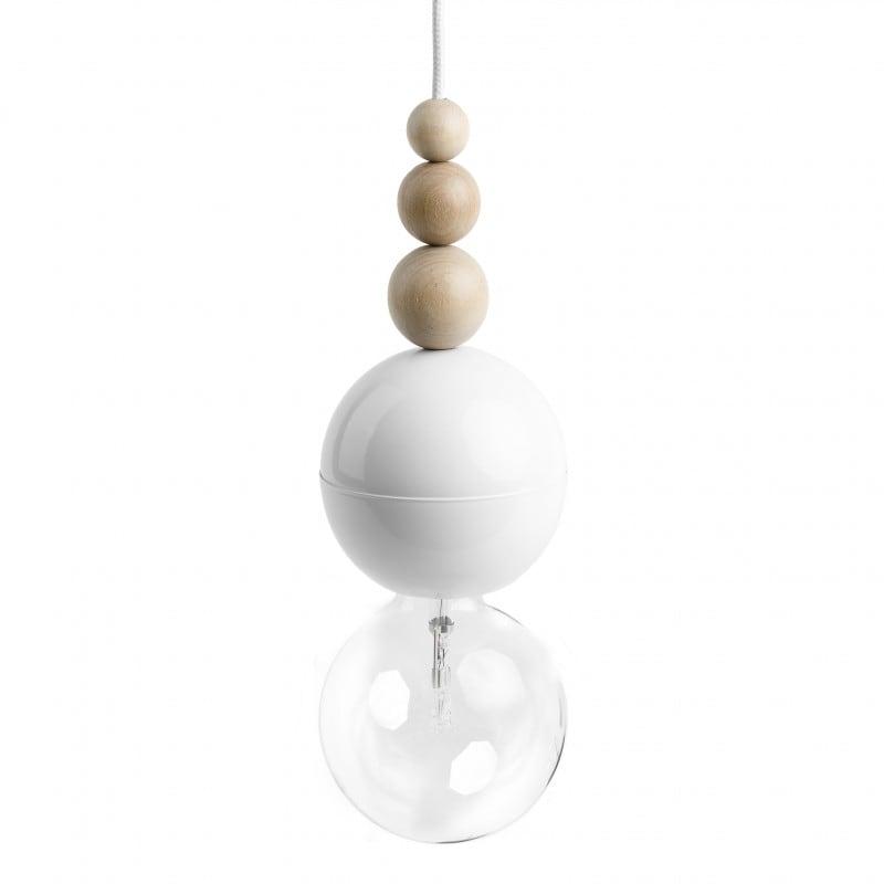 Loft Bala white pendant lamp