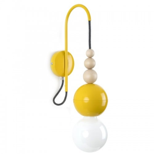 Loft Bala yellow wall lamp