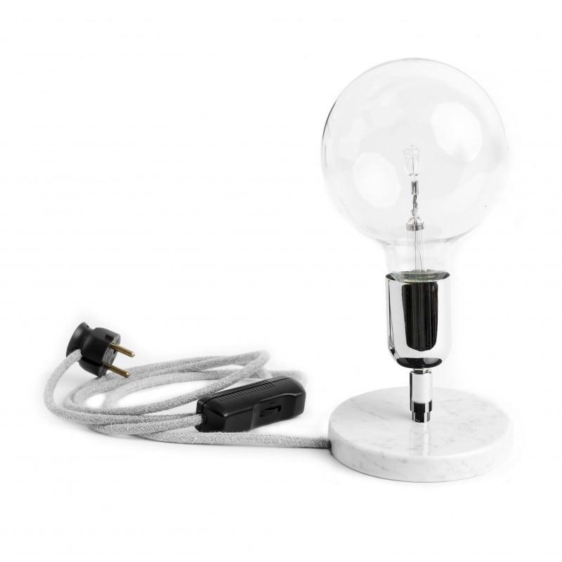 Loft Marble Silver BC table lamp