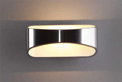 HUGO W0053 sconce silver Max Light