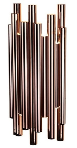 ORGANIC COPPER wall lamp with dimming function W0153D Max Light