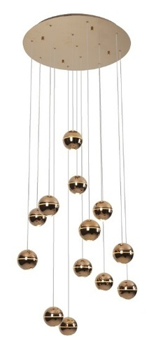 Zen 13 pendant lamp copper P0318 Max Light