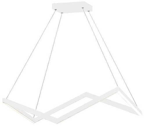 ORIGAMI pendant lamp large white P0364 MAX LIGHT