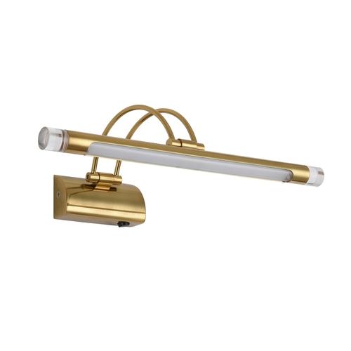 Wall lamp Cottbus Techno 1 Brass - 492026404