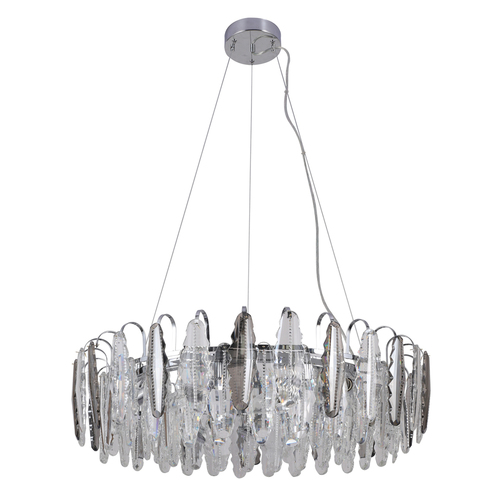 Hanging lamp Clarissa Crystal 11 Chrome - 437013111