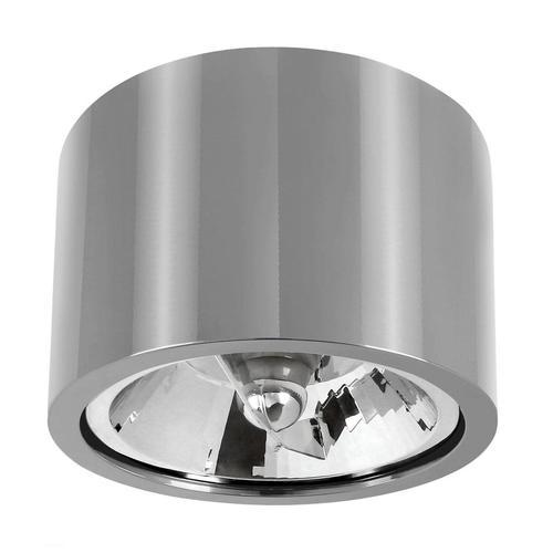 Chloe Ar111 Metalica Ip20 Round Silver Fixed Chrome