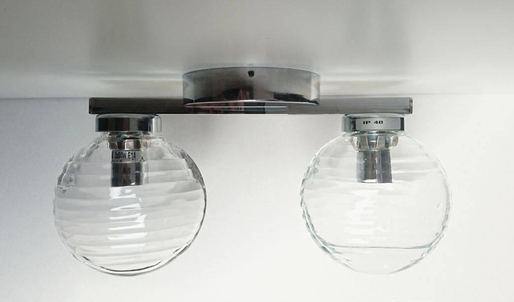 Wall lamp Fabbian Agua 2x40W chrome