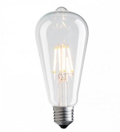 Decorative LED filament Vintage Amber 3000K 1055lm 7.5W bulb