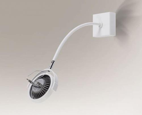 Adjustable single headlight SHILO MINO 2206 - GU10