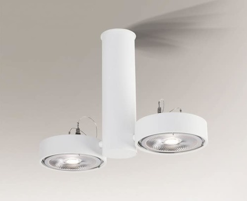 Ceiling lamp NATORI 2261 Shilo double spot GU10 50W
