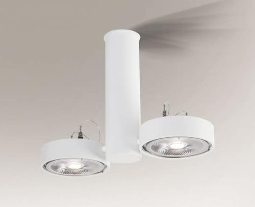 Ceiling lamp NATORI 2261 Shilo double spot G53 50W