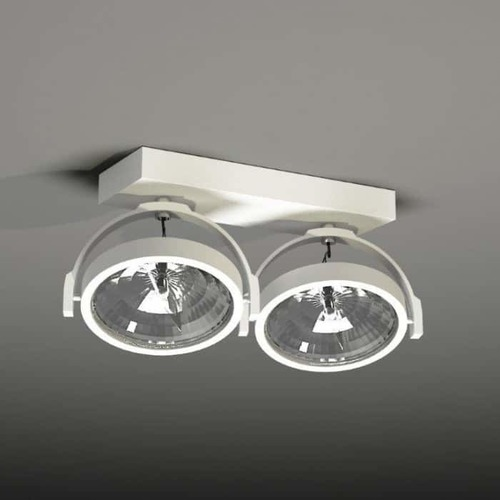 Double ceiling spotlight SHILO SAKURA 2234