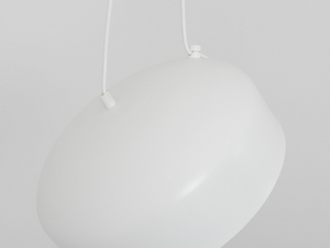 Hanging lamp POPO FLAT L 2 - white small 4