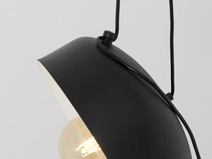 Hanging lamp POPO FLAT L 6 - black small 4
