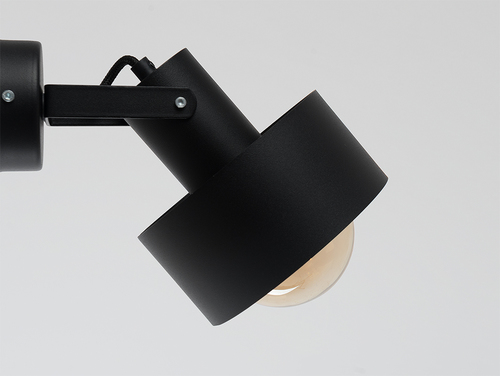 FAY WALL PLUS wall lamp - black