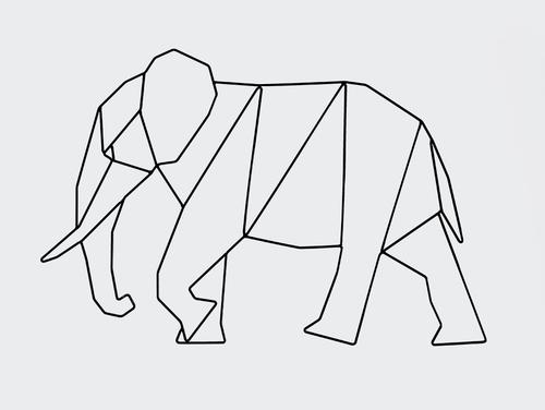 Wallart ELEPHANT