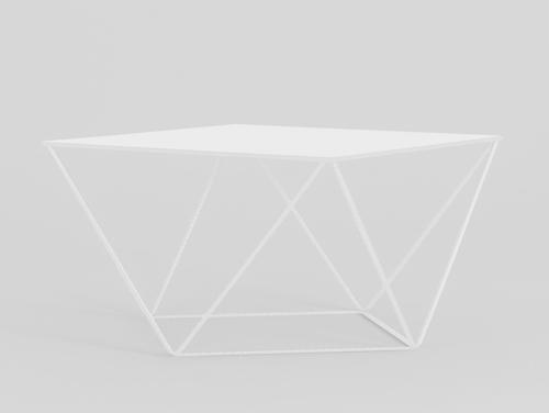 DARYL Metal White CustomForm coffee table