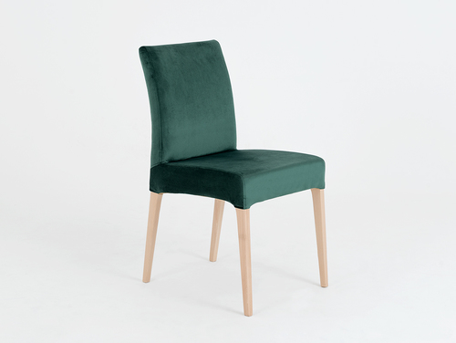 Modern DIANA dining chair beech, avocado