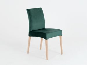 Modern DIANA dining chair beech, avocado small 0