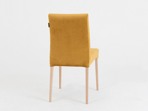 Upholstered chair DIANA, natural beech, passion fruit small 3