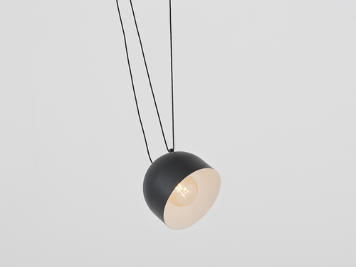 Hanging lamp POPO L 1 - black