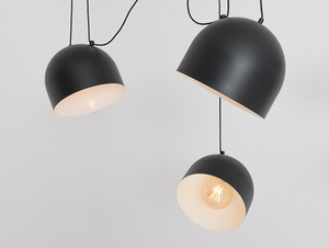 Hanging lamp POPO L 6 - black small 4