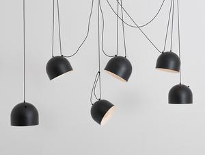Hanging lamp POPO L 6 - black small 0