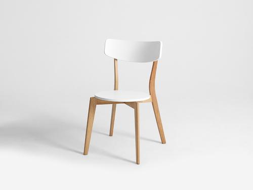 TONE chair - white, natural