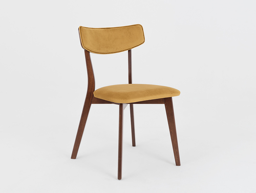 Chair for the room TONE SOFT walnut, passion fruit
