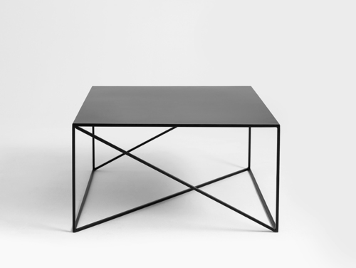 Coffee table MEMO METAL 80