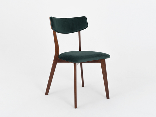 Design chair TONE SOFT walnut, avocado