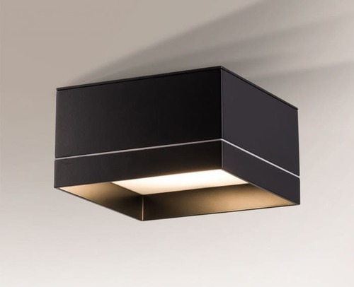 Square ceiling lamp IP44 Shilo Tosa 8010