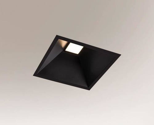 Flush-mounted luminaire IP54, square, recessed Shilo Ube Il IP54 8050