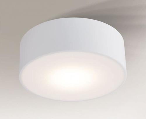 Round ceiling lamp IP44 Shilo Zama 8011-Led