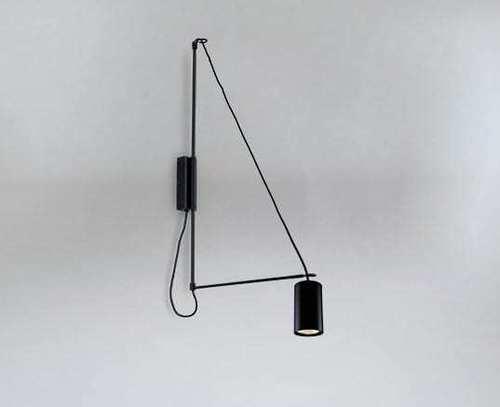 Loft wall lamp kabe 9016 Shilo - DOHAR
